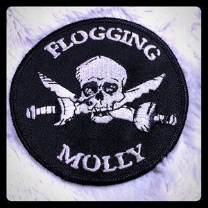 HOT TOPIC Flogging Molly Pirate Patch